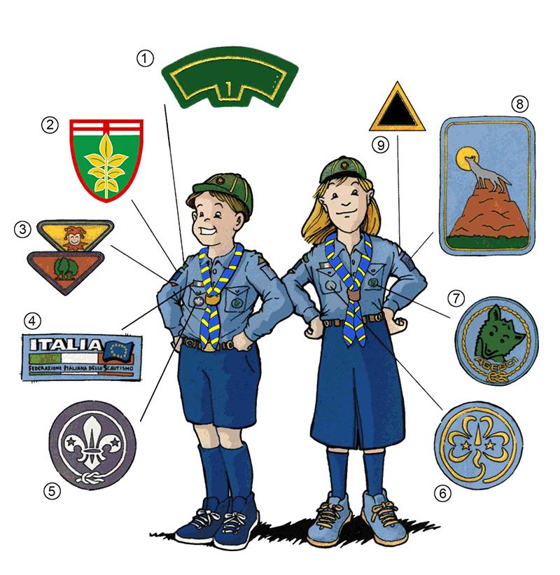 Scout Camicia